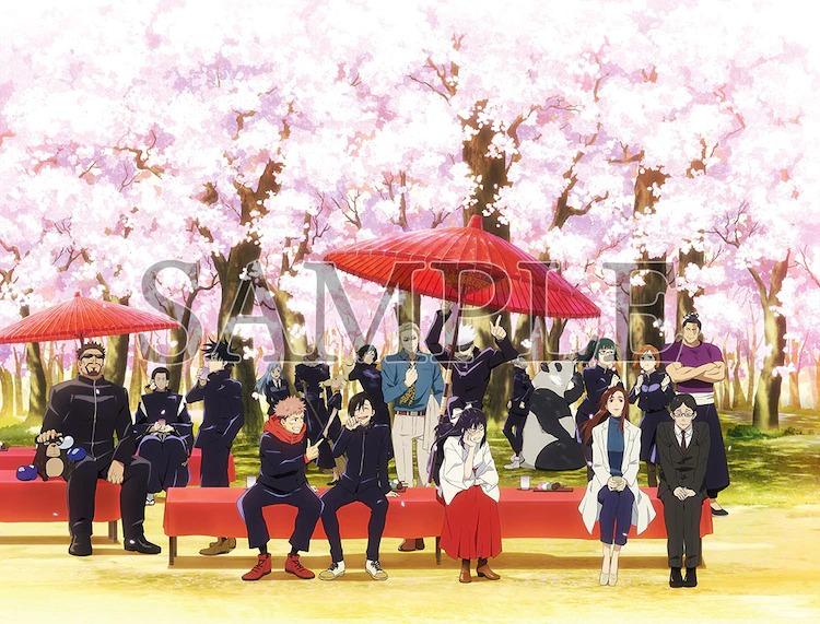 Exposición de animación JUJUTSU KAISEN