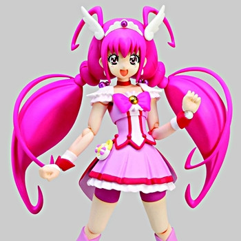 Cure March Action Figure Bandai S.H.Figuarts Smile Precure FROM JAPAN