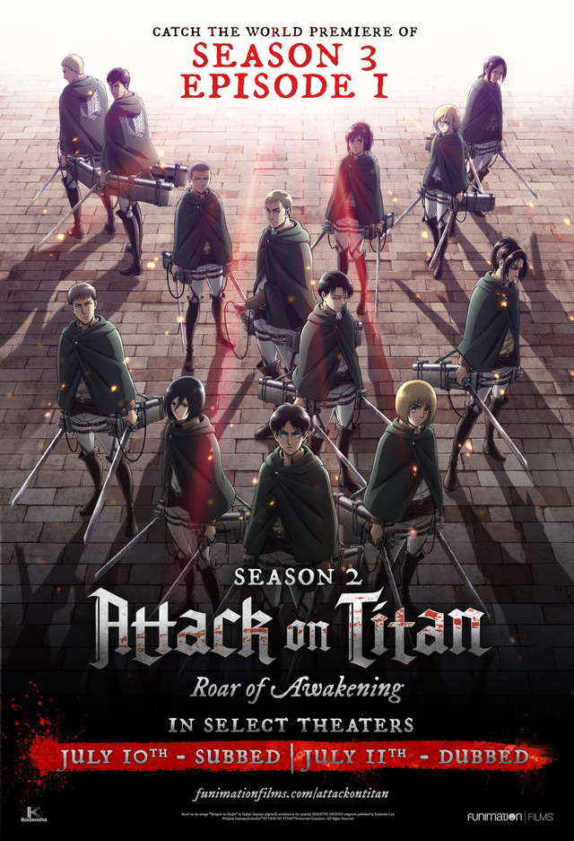 "Crunchyroll - ""Attack on Titan"" Season 3 Premieres in U.S ..."