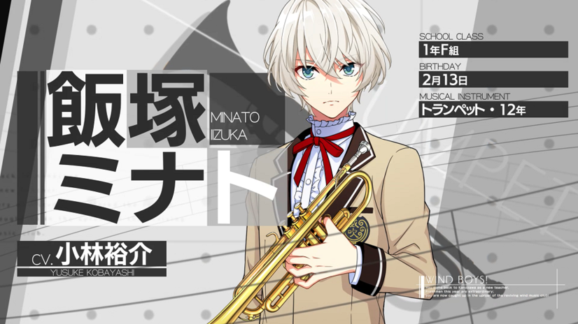 Game character Minato Iizuka