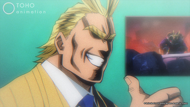 All Might, My Hero Academia
