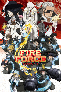 Fire Force Season 2 is a featured show.