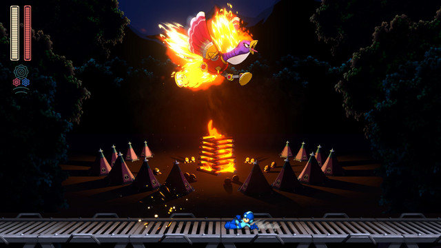 Capcom Drops Mega Man 11 Screenshots and Torch Man Boss Fight
