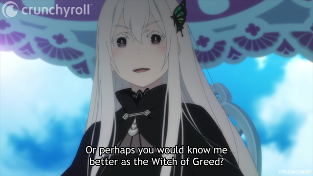 equidna bruja de la codicia rezero