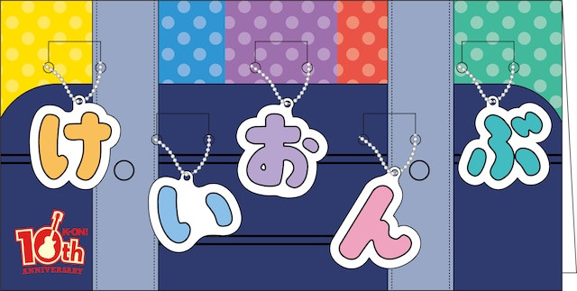 K-ON! 10th anniversary goods