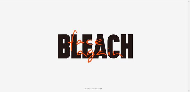 bleach 20 anos