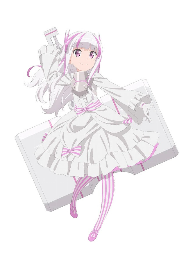 A character visual of Yui, another new player from the upcoming Itai no wa Iya nanode Bougyoryoku ni Kyokufuri Shitai to Omoimasu. TV anime.