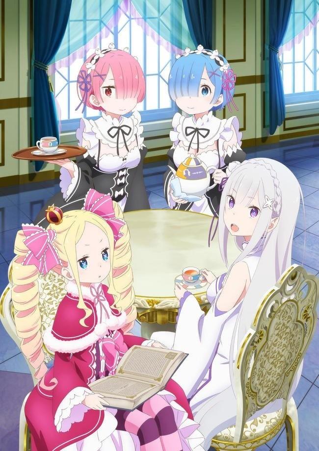Re:ZERO Tea Party pop-up illustration