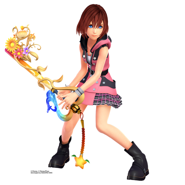 Kairi Prepares For Kingdom Hearts III With