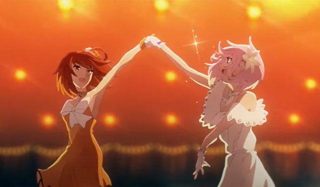 Gudako and Mash dance