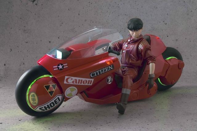 Bicicleta con Kaneda