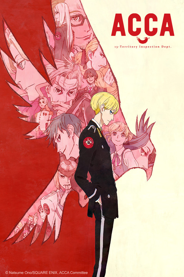 ACCA: 13-Territory Inspection Dept  - Watch on Crunchyroll