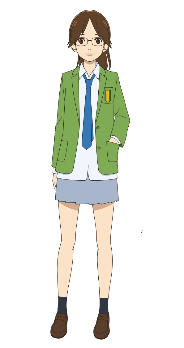 A character setting of Makoto Miyasaka, a member of the high school soccer club from the upcoming Farewell, My Dear Cramer TV anime.