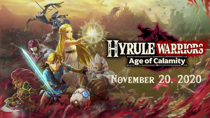 Hyrule Warriors: Age of Calamity Launch Trailer