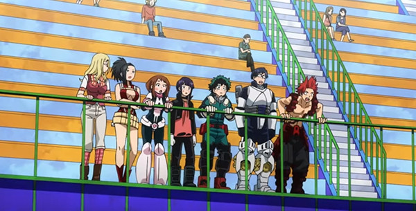 Crunchyroll My Hero Academia Two Heroes Is Fun And Full Of Punches