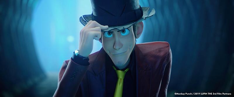 Lupin III luce el sombrero de su abuelo