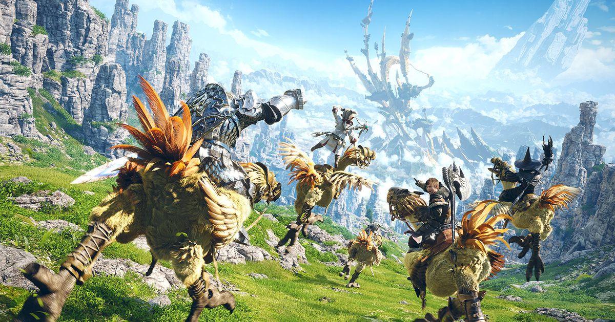 Final Fantasy XIV está a punto de lanzar su servicio de PS5, así que aquí hay una foto llena de colillas de Chocobo.
