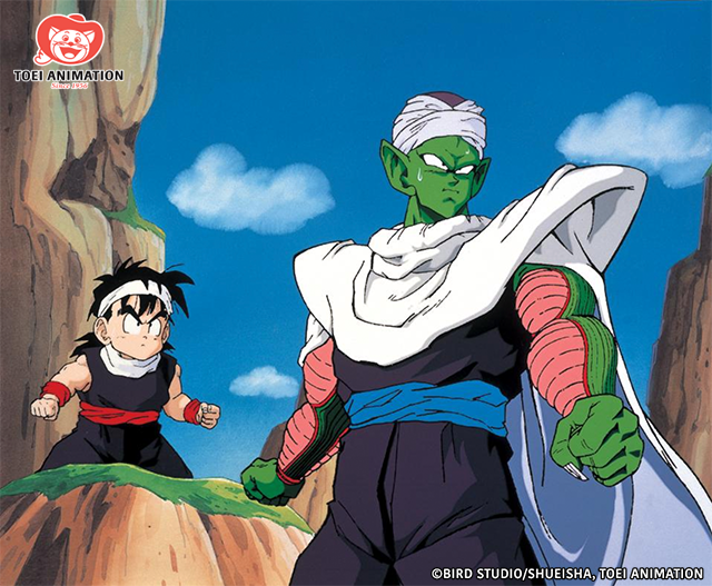 Piccolo and Gohan in Dragon Ball Z