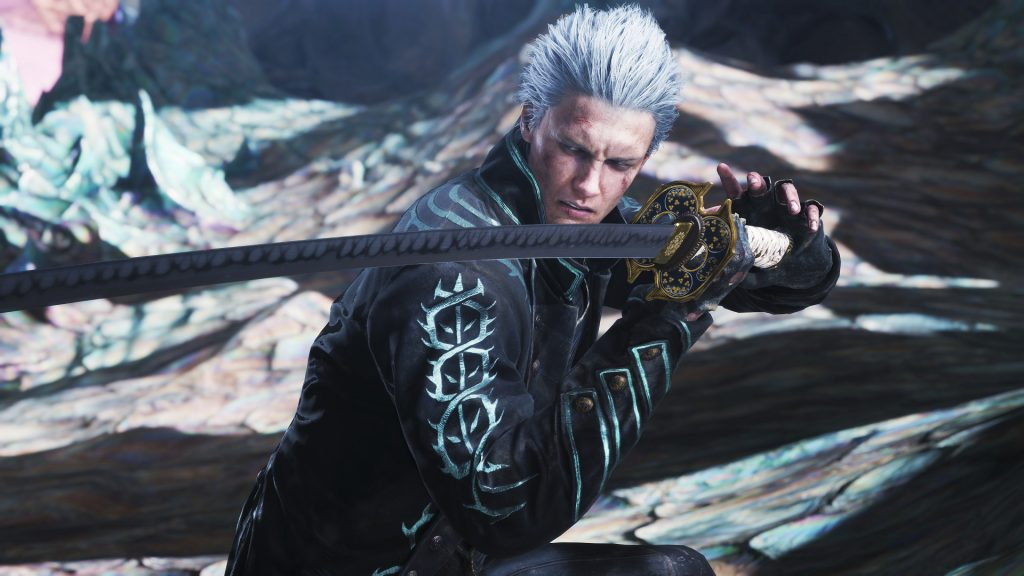 Featuring Vergil from Devil May Cry series