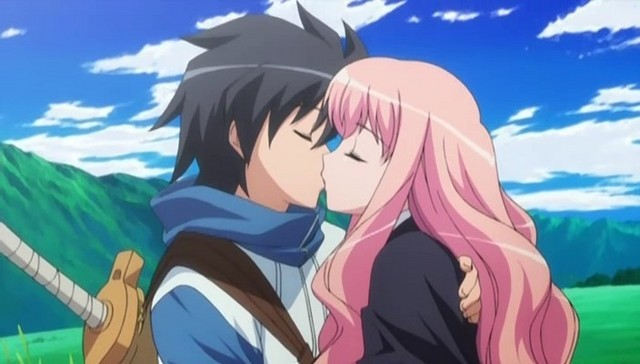 Best anime kiss scenes