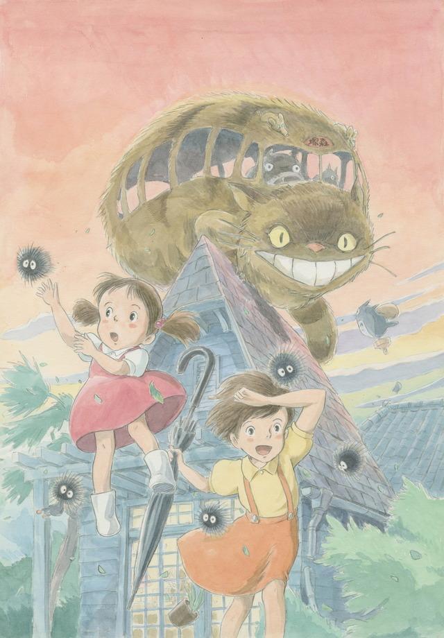 Ghibli Expo 2021 key visual
