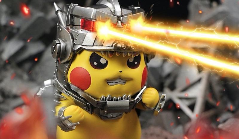 Pikachu Mechagodzilla