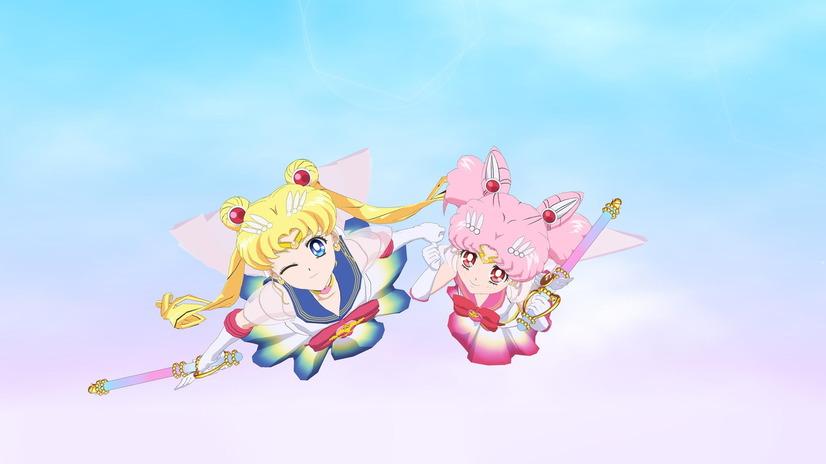 Vuelo de ensueño de Sailor Moon VR