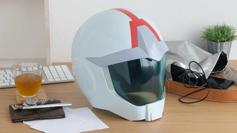 1:1 scale replica of Amuro Ray's helmet