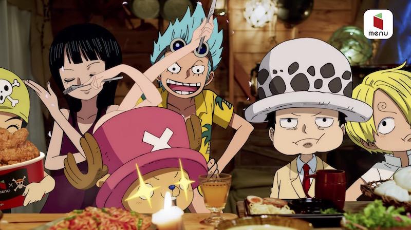 One Piece x menu 2