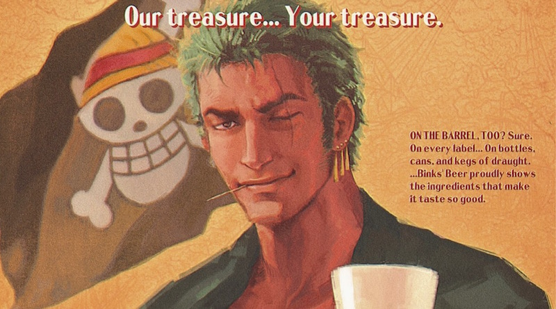 One Piece vintage ads