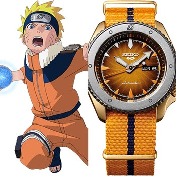 Seiko 5 Sports to Get Limited Collaboration Watches Inspired by NARUTO & BORUTO Characters