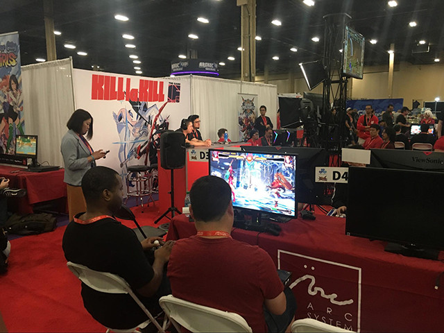 Arc System Works booth