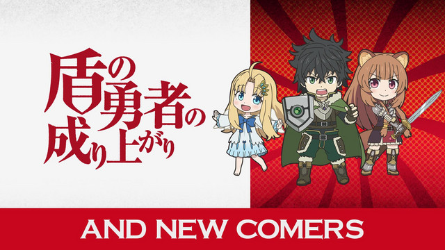 ISEKAI QUARTET - The Rising of The Shield Hero The New Comers