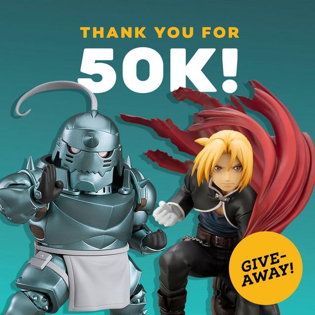 Crunchyroll - Forum - Crunchyroll Store Flash Contest 50k Followers