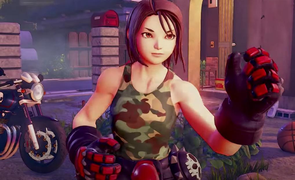 Akira in Street Fighter V