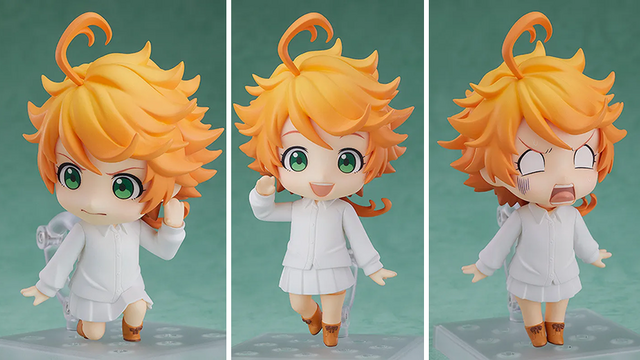 Crunchyroll Emma Of The Promised Neverland Is Now A Nendoroid