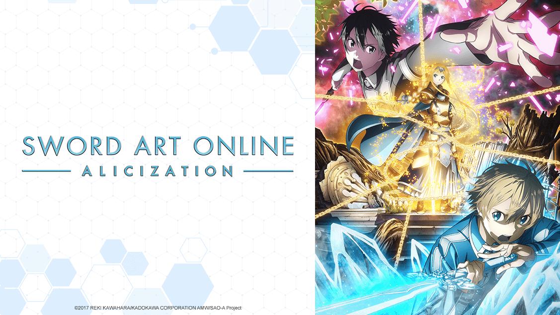 Sword Art Online Alicization English dub