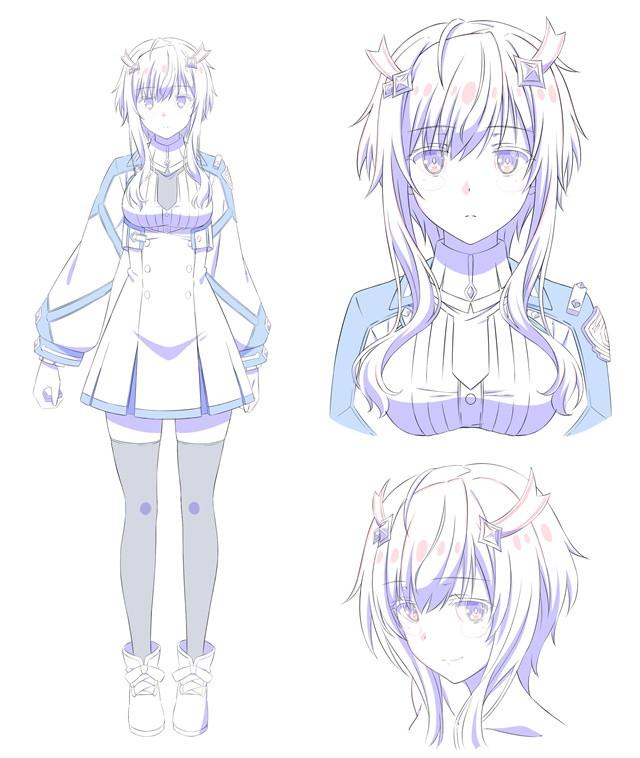 Misha Necron por Tomori Kusunoki (Llenn em Sword Art Online Alternative Gun Gale Online)