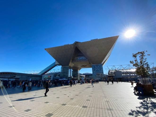 Imagen del Tokyo Big Sight durante el Comiket 97