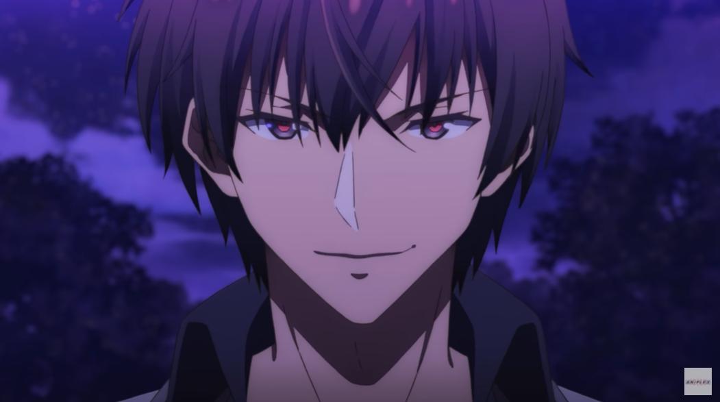 Anos Voidigoad, el personaje principal titular del anime de televisión The Misfit of Demon King Academy, sonríe en una escena del teaser trailer de la segunda temporada recién anunciada de la serie.