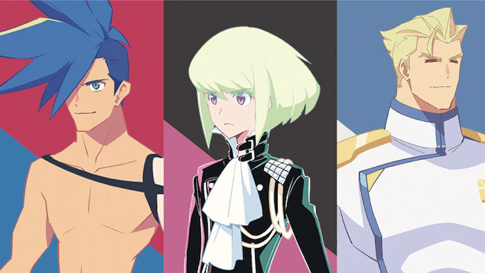 The stars of Promare