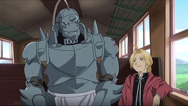 Ed and Al from Fullmetal Alchemist Brotherhood